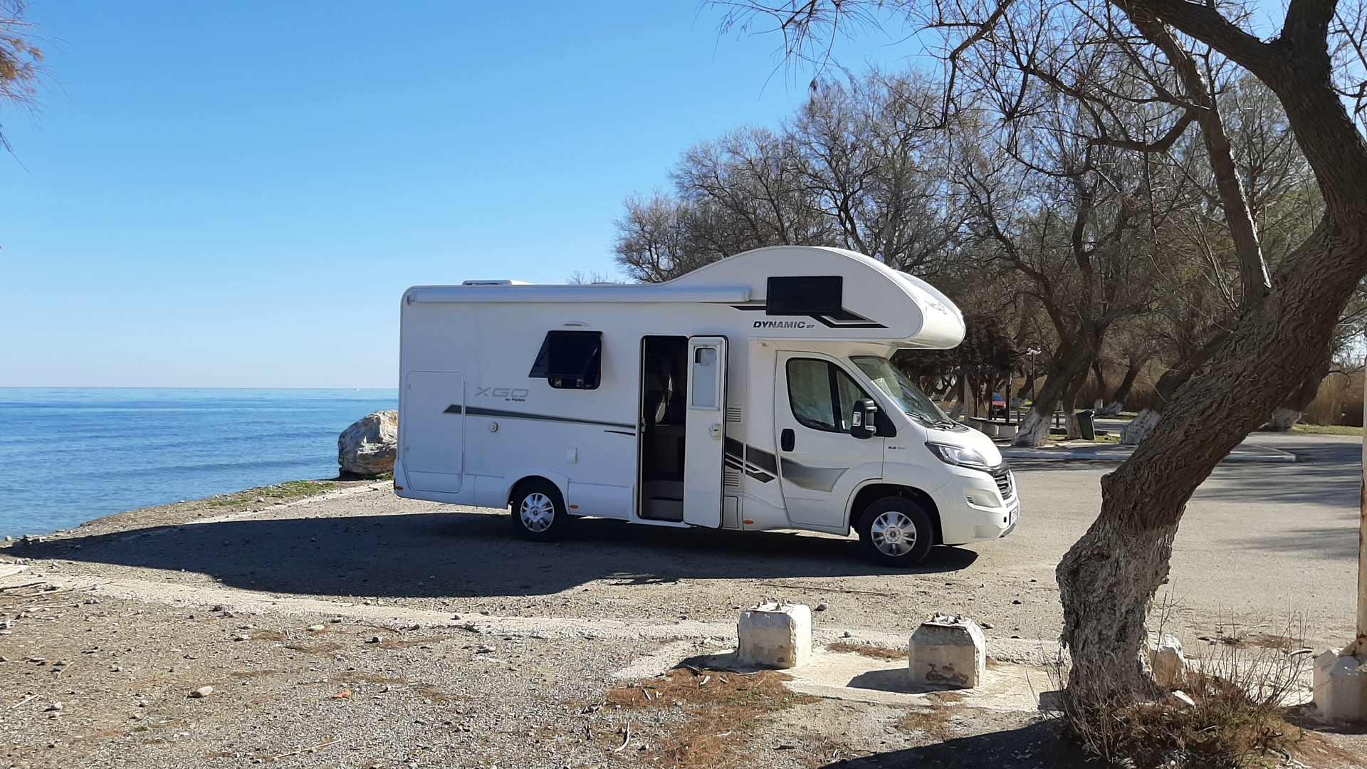 First campervan rental business in Crete, Greece