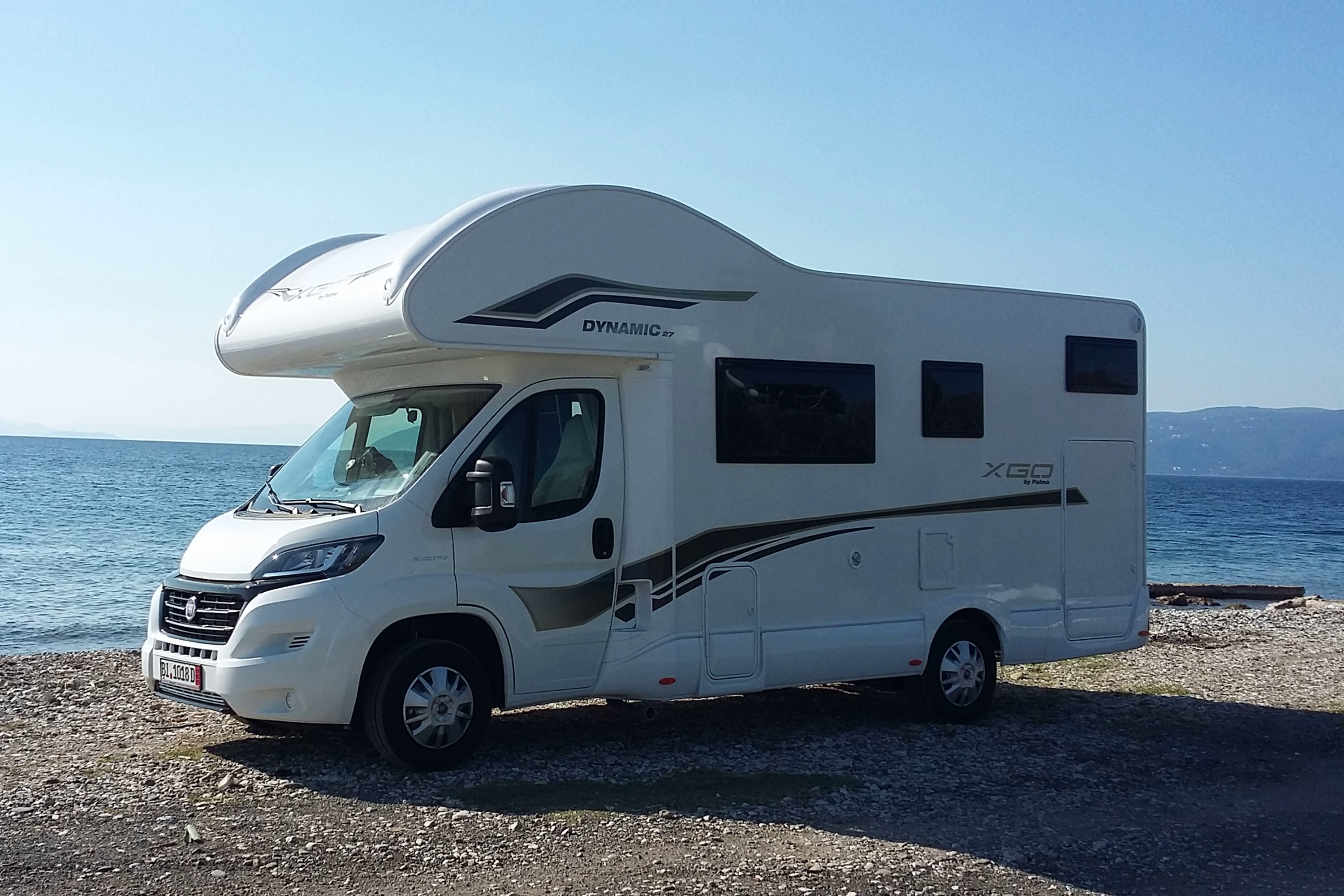 XGO-27 - 2019, spacious family camper